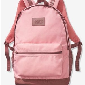 NWT PINK Victoria's Secret Campus Backpack